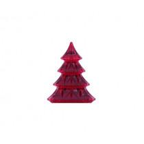 Деко украса Christmas Tree red