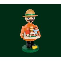 """Декоративен димящ човек """"Продавач на детски играчки"""", 12см"""