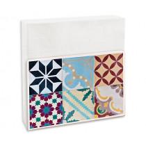 Салфетник Contento Mosaic Colorful, за 50 бр. салфетки