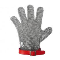 Предпазна ръкавица ErgoProtect Red, Fr. Dick, метална нишка, размер M, до китката