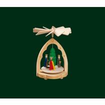 """Декоративна мини пирамида """"Тримата светци"""", 12 см"""