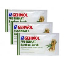 Скраб за крака Gehwol Fusskraft Bamboo, 30х10 мл