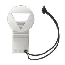 Отварачка за бутилки Geo, Hogri Design, инокс