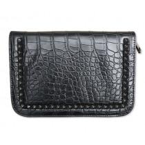 Чанта-несесер за фризьорски ножици Take it Black, Jaguar Solingen, за 2 инструмента и гребени