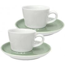 Чаши за капучино и чай Kahla Five Senses Hazy, порцелан, комплект 2 бр.