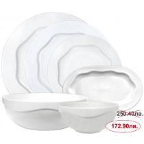 Сервиз за хранене Kahla Allround White, порцелан, 12 части