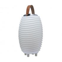 Мултифункционална лампа 3 в 1, Kooduu Synergy Model 50 - осветително тяло, блутут колона и ледарка, Ø 31.7 х вис. 56.3 см, 2 л
