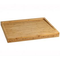Готварска дъска за рязане Lurch, масивна, бамбук