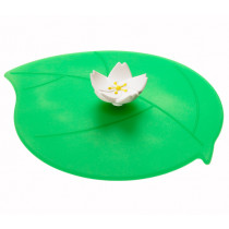 Предпазен капак за чаши Lurch Summer Apple Blossom, силиконов, 12.5 см