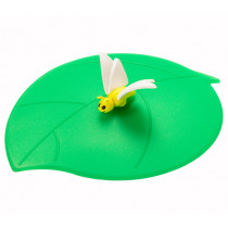 Предпазен капак за чаши Lurch Summer Summer Butterfly, силиконов, 12.5 см