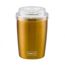 Термо чаша за мобилно ползване To Go Columbia Gold, Lurch, инокс, 0,3 л