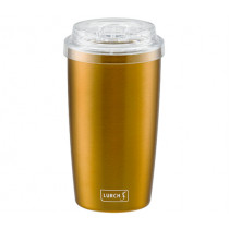 Термо чаша за мобилно ползване To Go Columbia Gold, Lurch, инокс, 0,4 л