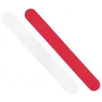 Пили за нокти White & Red 80/120, Niegeloh Solingen, комплект 2 бр.,17.5 см