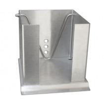 Кутия за салфетки Stöckel, с притискащ лост, неръждаема стомана